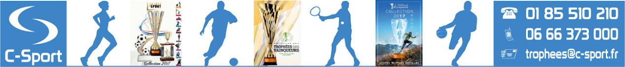 C-SPORT >>> Coupes, Médailles, Trophées.