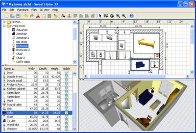Arredamento e interior design sweet home 3d il software for Disegnare la planimetria online gratuitamente