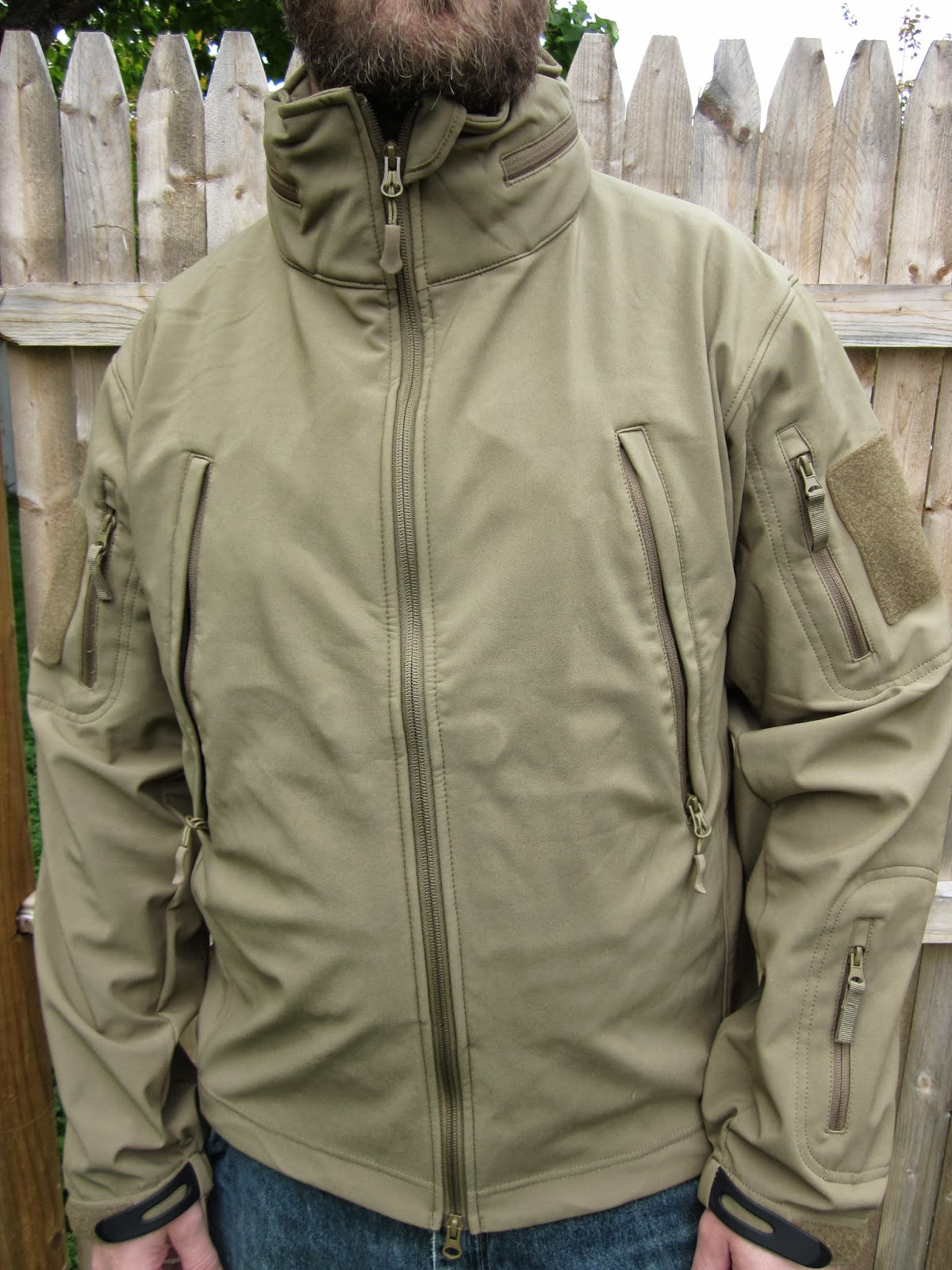 Ock softshell jacke test