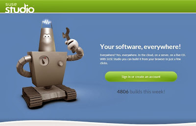 Suse Studio Home Page