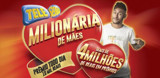 Números sorteados Tele Sena Mães 2015