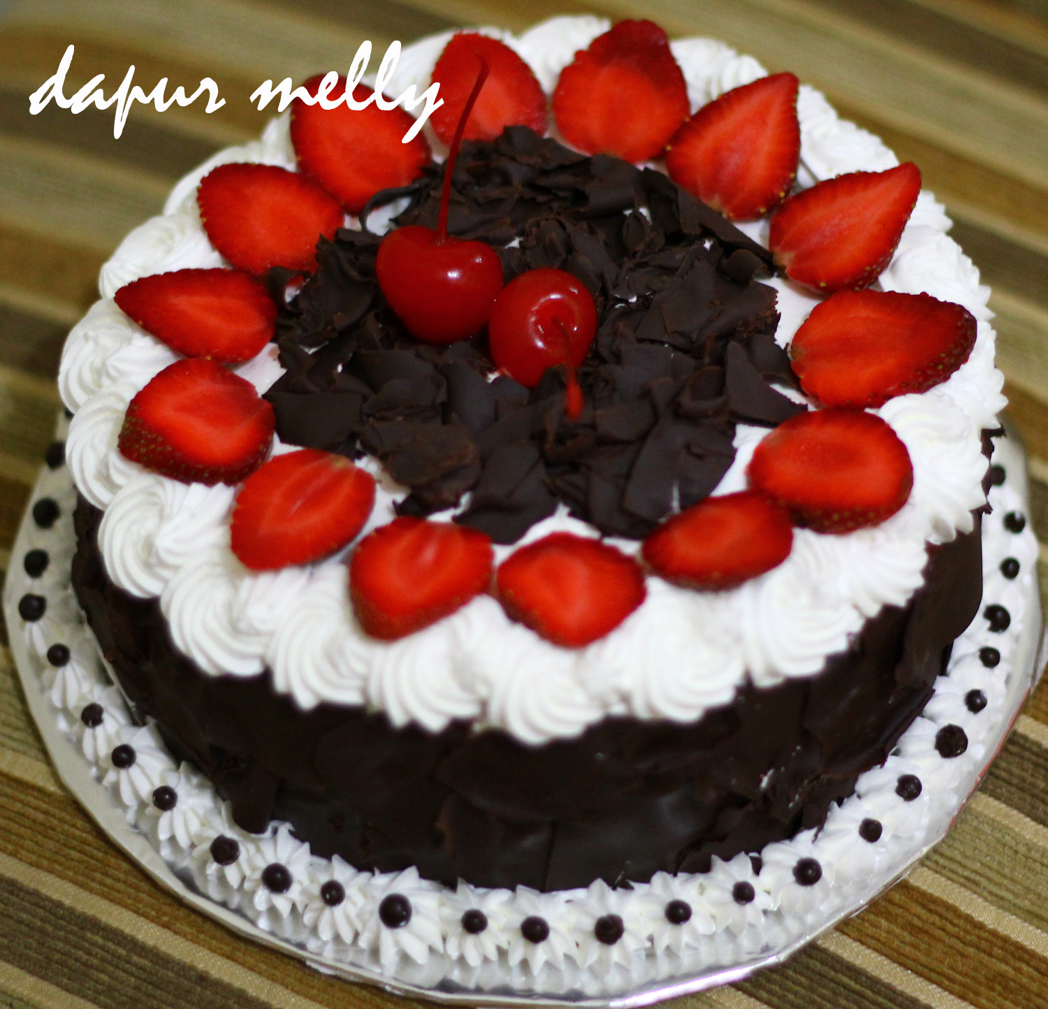 strawberry black forest