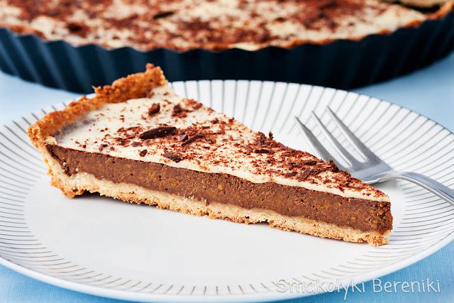 Tarta z puree dyniowym i czekoladą