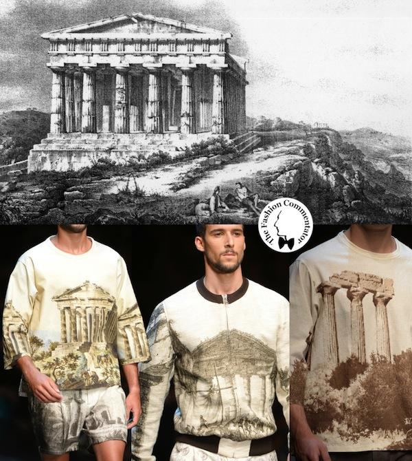 Dolce e Gabbana Uomo - Spring Summer 2014 - Tempio della Concordia Agrigento