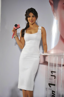 Priyanka Chopra's Sexy Hourglass Figure in White Dress