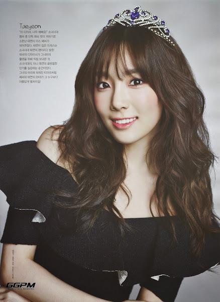 Taeyeon Ceci Korea October 2014