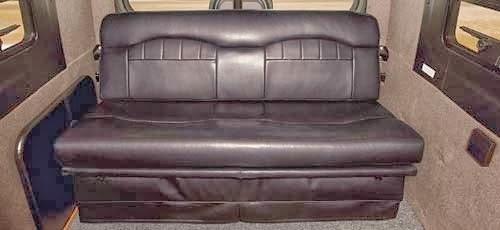 canapé camping car