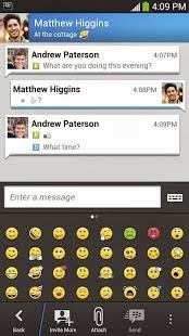 emoticons in bbm apk