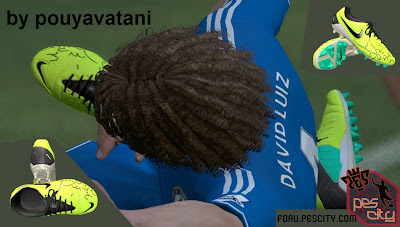 PES 2014 David Luiz's Signed Nike by pouyavatani