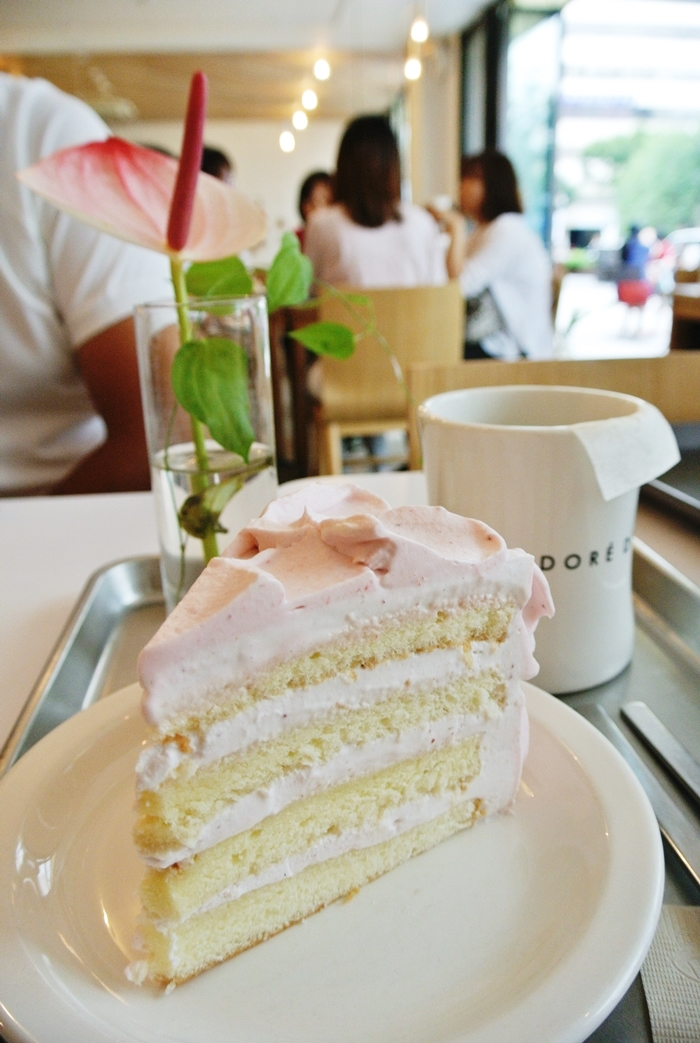 Strawberry Milk Cake
