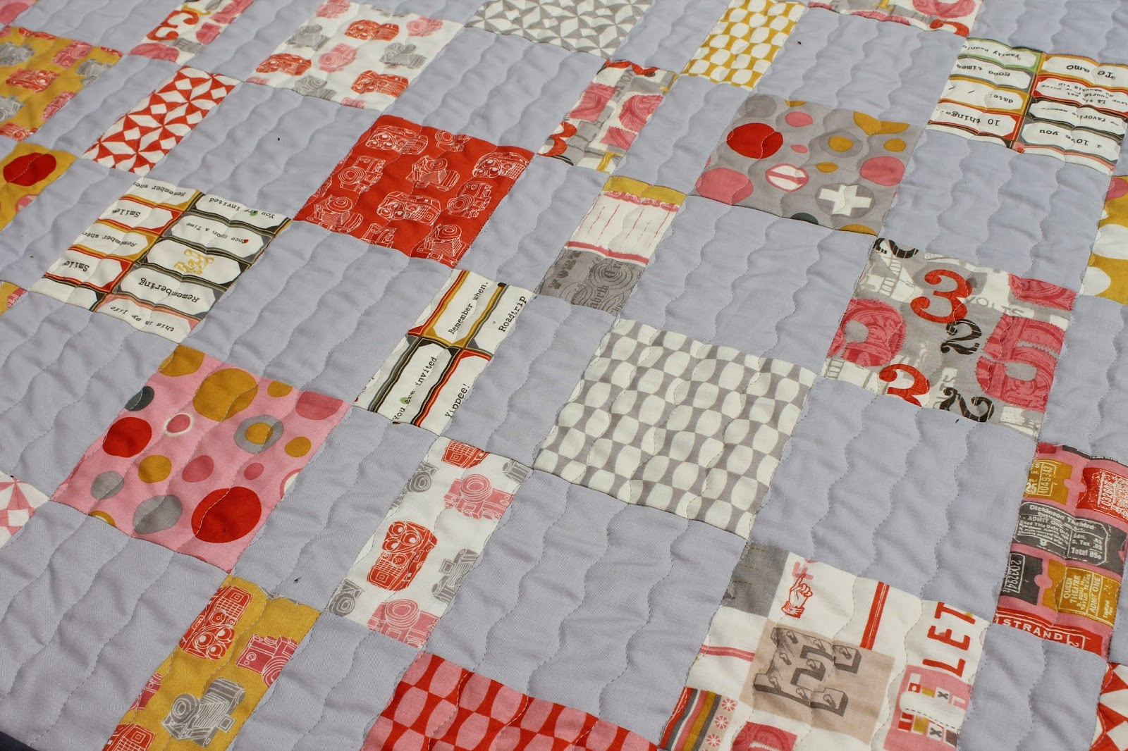 Quilting Is More Fun Than Housework Java Charm Pack Cherry Quilt
