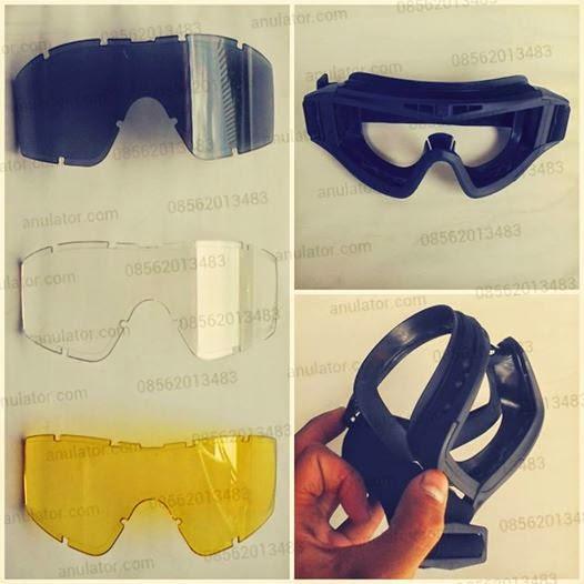 Goggle tactical 3 Visor