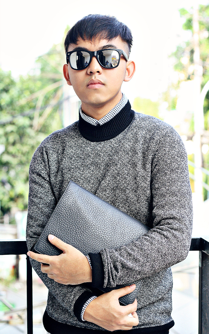 MEN'S FASHION BLOGGER INDONESIA IN CALVIN KLEIN