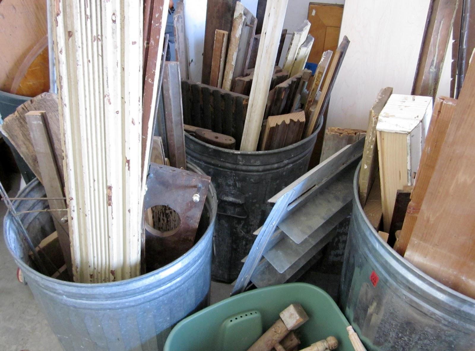 Junker's wood scrap pile paradise