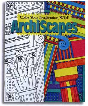 Architecture Coloring Book7