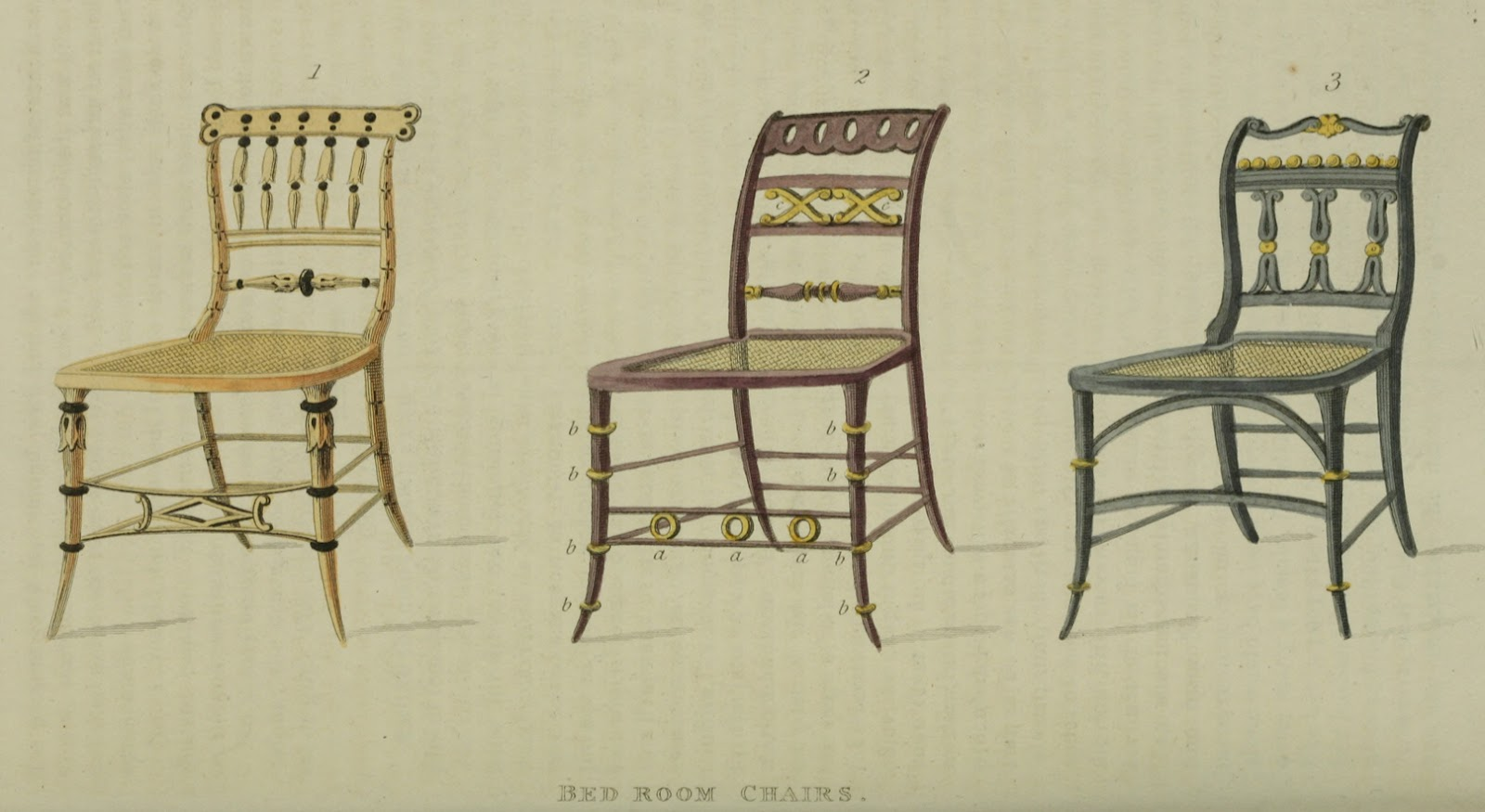 1814 Bedroom Chairs I Would Not Want To Sit In One Of These Too