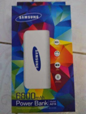 Power Bank Samsung 6800 mAh