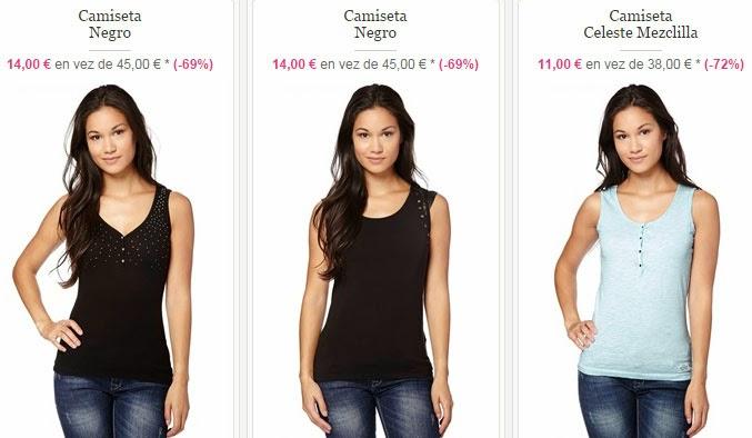 Algunos ejemplos de camisetas disponibles