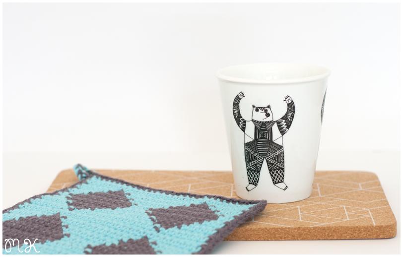agarradera horno tapestry crochet ganchillo