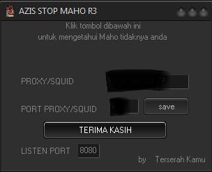 Injek Azis Stop maho R3