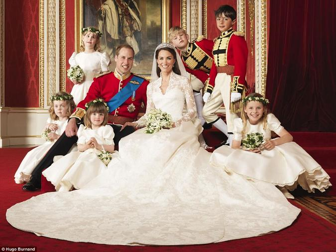 royal wedding kate and william. The Royal Wedding Photo of