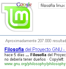 Google con Linux Mint: Eliminar en Firefox, Chrome y Opera las búsquedas con el filtrado de Linux Mint.