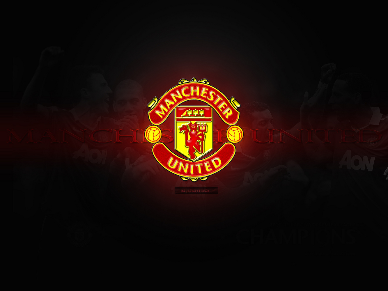 Wallpapers hd for mac manchester united logo wallpapers manchester united logo wallpaper voltagebd Gallery