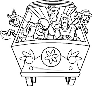 Mewarnai Gambar Hantu Lucu - Scooby Doo - Coloring Pictures   Coloring ...