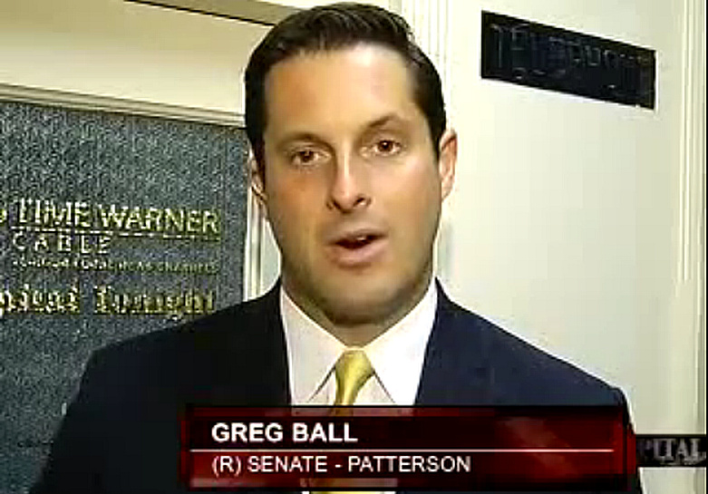 Greg Ball, tweet me, how would you vote on gay marriage? Yes or No? VIDEO