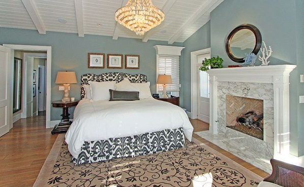Keep The Colors Simple While The Luxurious Accessories Take Care Of The  Punch In This Country Master Bedroom.