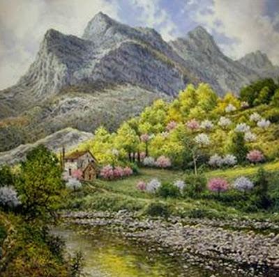 pintura-paisaje-flores