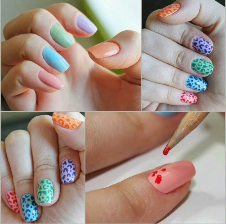 Decora tus uñas con diseños divertidos