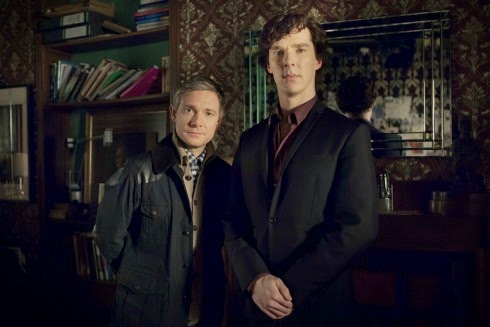 BBC One's Sherlock starring Benedict Cumberbatch and Martin Freeman