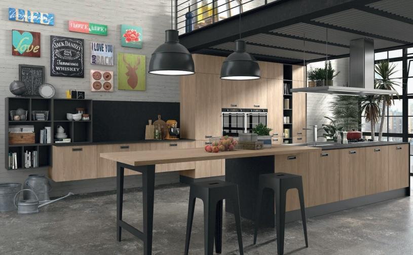 Nuovo modello cucina lovel e novit 2016 in cantiere for Cucina 2016