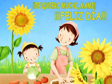 Octubre el mes de las Madres!!