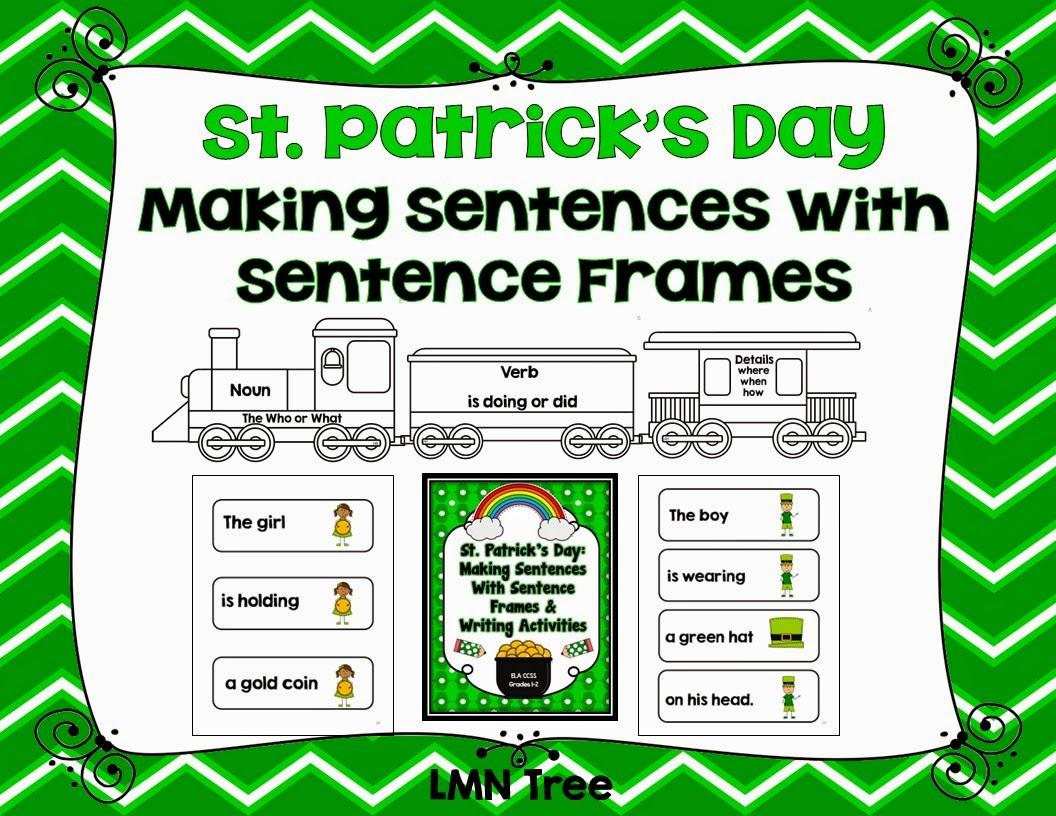 LMN Tree: Making Sentences with Sentence Frames for St. Patrick\'s Day