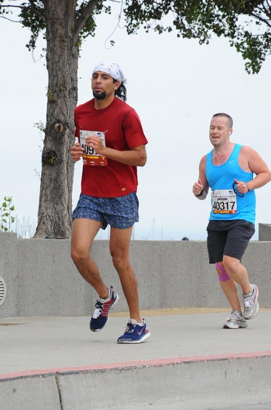 Uphill San Francisco Marathon 2012