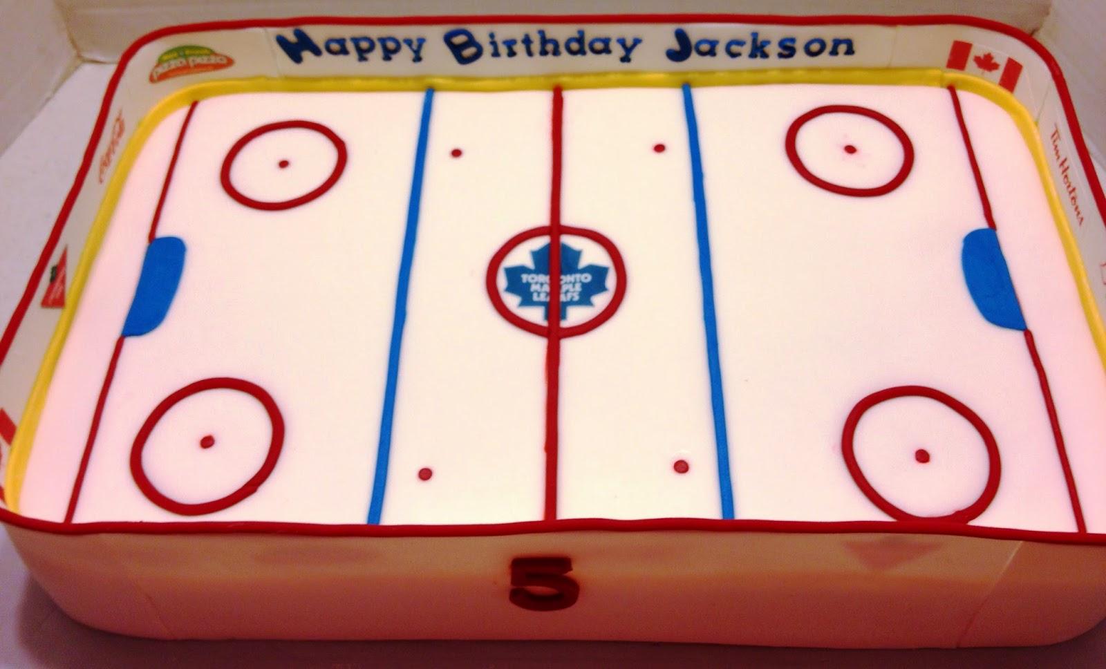 Hockey Rink Cake Images