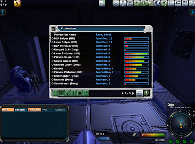 Entropia Universe - Profession Levels