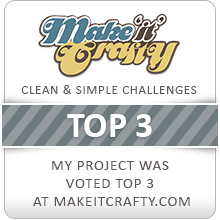 Top 3 at Make it Crafty