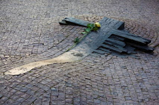 Jan Palach self immolation monument Czechoslovakia