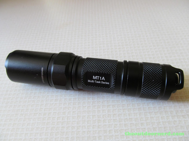 Nitecore MT1A AA Flashlight: Glamour Shot