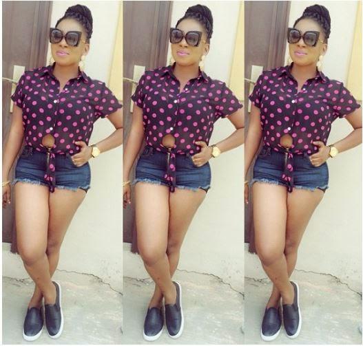 Photos: Actress Mide Martins poses on bum short