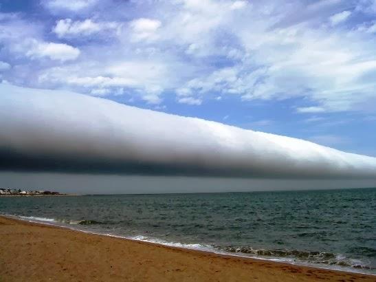 nubes rodillo Arcus cloud