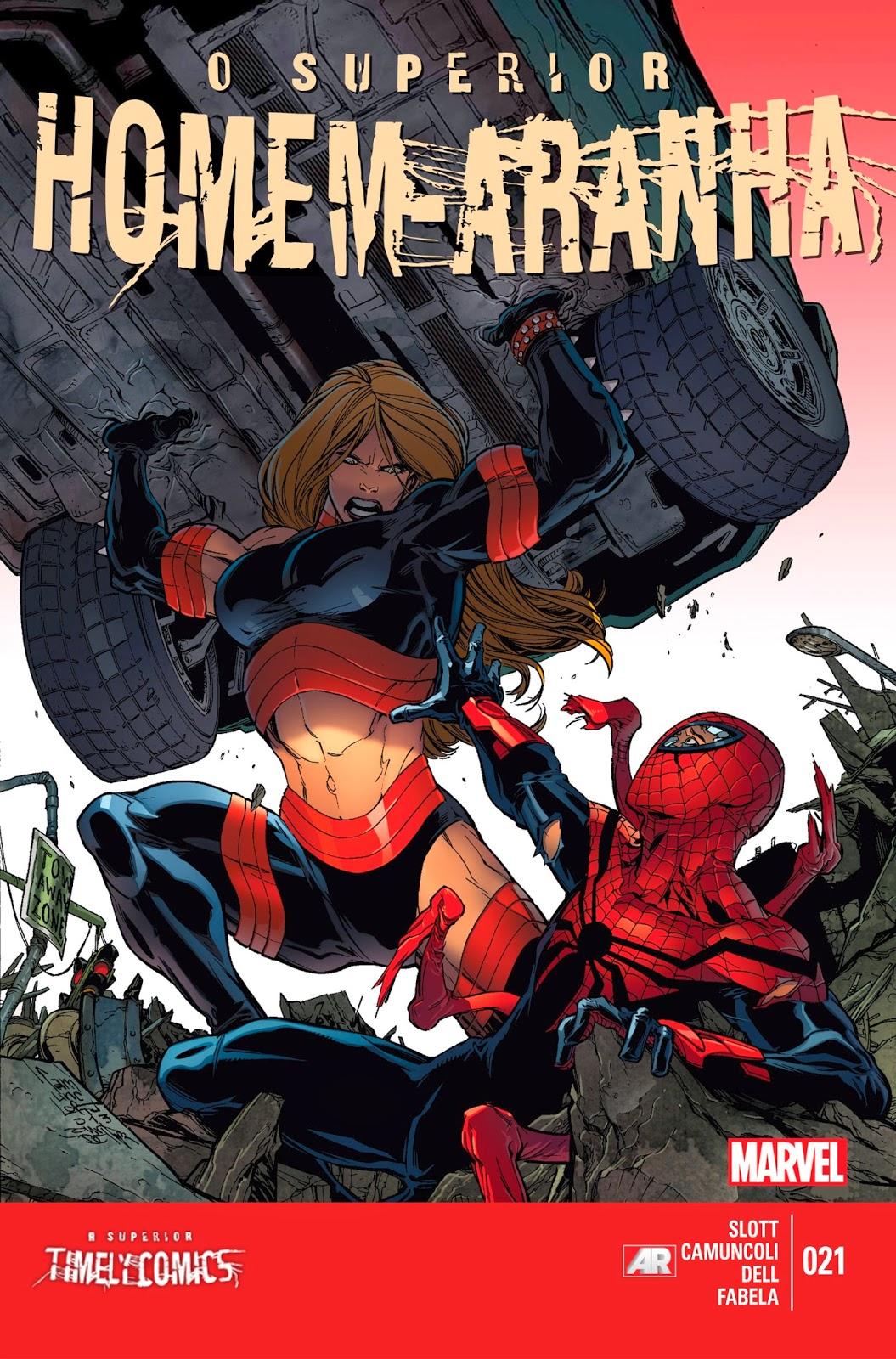 Nova Marvel! O Superior Homem-Aranha #21