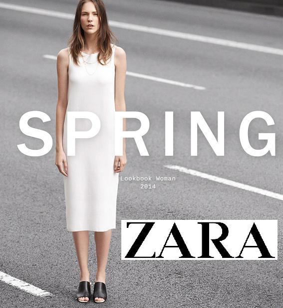 bab0a5a2800 Την Άνοιξη 2014 ,η εταιρία ZARA θα κάνει πολύ χαρούμενες όσες αγαπόυν τα  ρούχα του ομώνυμου brand και όχι μόνο λόγω της νέα συλλογής.