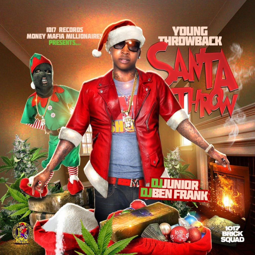 Stream Young Throwback - Santa Throw