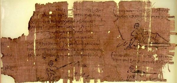Os papiros de Oxyrryncus