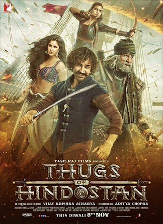 Poster Of Thugs Of Hindostan 2018 Watch Online Free Download