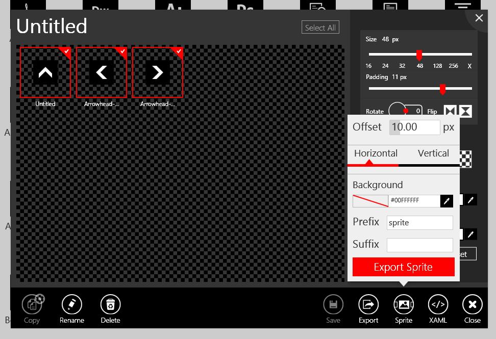 Buat CSS Sprite dengan mudah